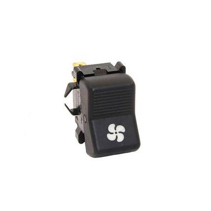Клавиша включения вентилятора отопителя с подсветкой символа ВАЗ-2101-21213, фото 2