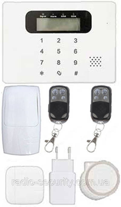 Бездротова охоронна сигналізація GSM 30С Prof комплект