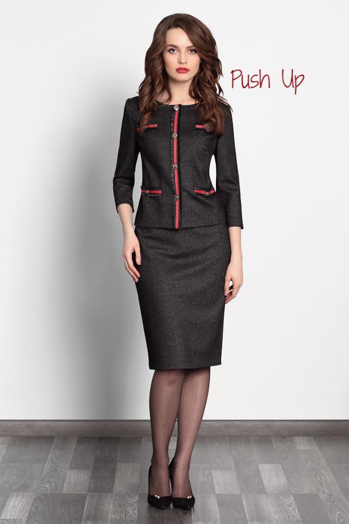 Женский костюм MUSTARD 3.815  (жакет и юбка) от NOCHE MIO
