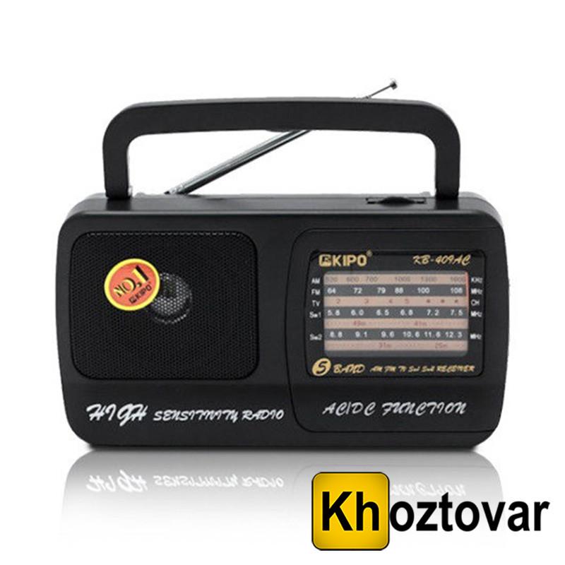 Радиоприемник переносной KIPO KB-409AC
