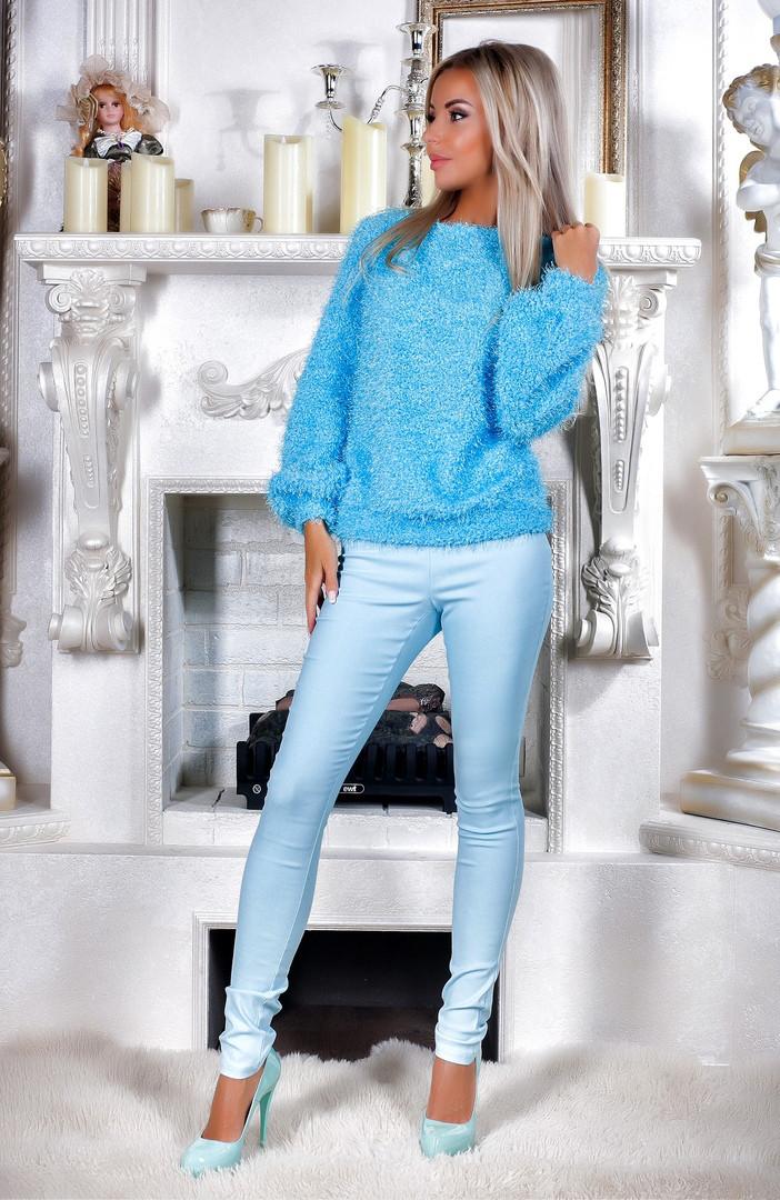 Крутой женский свитер + брюки