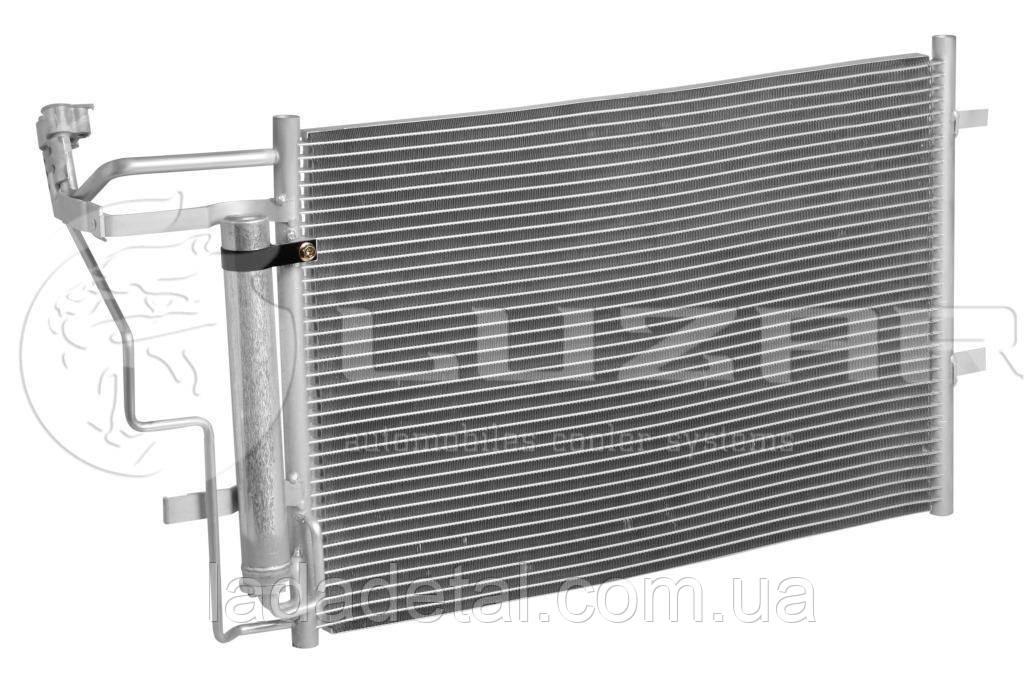 Радиатор кондиционера Мазда 3 Mazda 3(BL) 1.6i / 2.0i (09-) с ресивером BBY2-61-48ZA