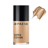 Тональный крем Long Cover Fluid (03) Золотой Беж Paese