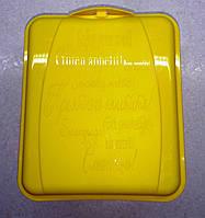 Контейнер универсальный (13,5 x 16 x 6,5 см.) желтый, фото 1