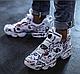 Мужские кроссовки Reebok Insta Pump Fury OG Vetements, Рибок Инста памп белые, фото 2