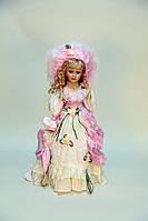 Кукла сувенирная, фарфоровая, коллекционная 50 см 1303-05