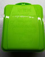Контейнер универсальный (13,5 x 16 x 6,5 см.) салатовый, фото 1
