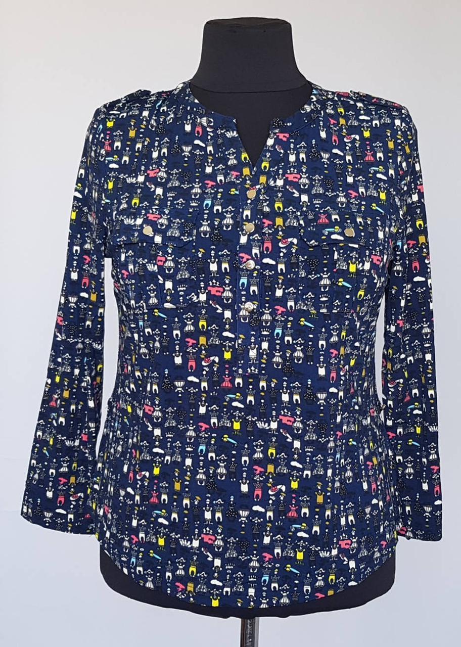 Молодёжная женская блузка  50 размера