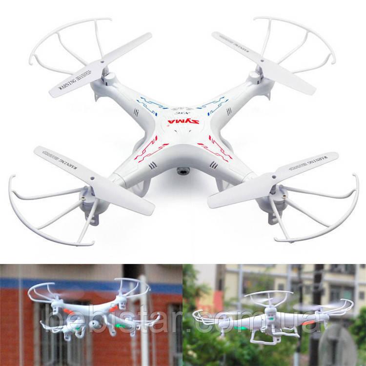 Квадрокоптер Syma X5C з гіроскопом, камерою, USB