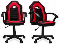 Кресло компьютерное игровое спортивное Home-Fest ELIS красное