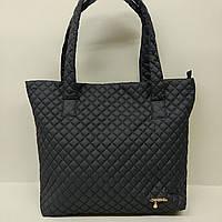Стеганная сумка черная