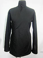 Рубашка женская черная на запах Atteks - 02103