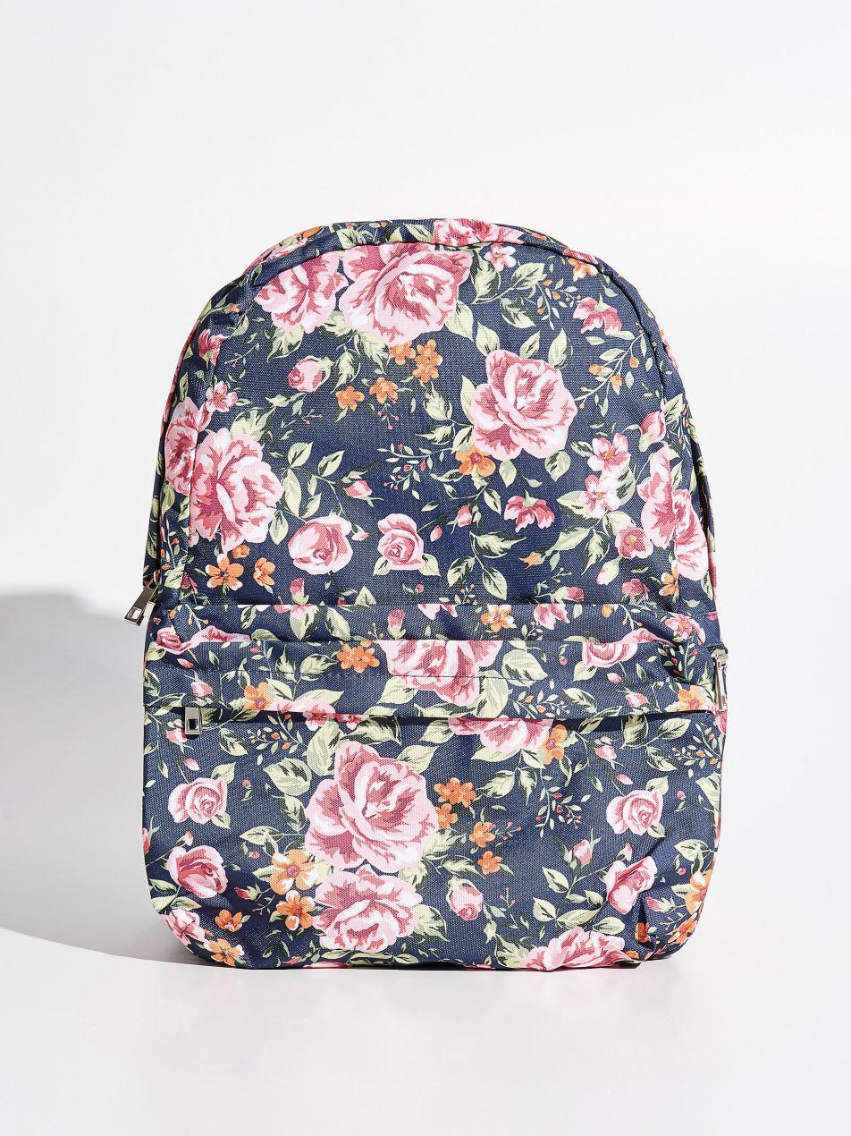 dbe544d904ce Купить сейчас - Рюкзак с цветочным принтом ТМ Sinsay: 519 грн ...