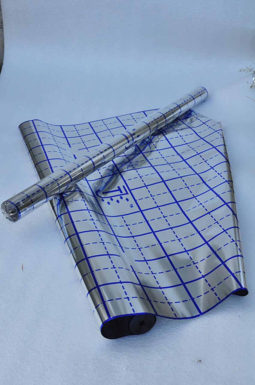 Плёнка TERMOIZOL® с разметкой под тёплый пол, т. 40 микрон, 50 м. п. в рулоне