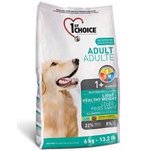 1st Choice ФЕСТ ЧОЙС малокалорийный сухой супер премиум корм для собак с избыточным весом
