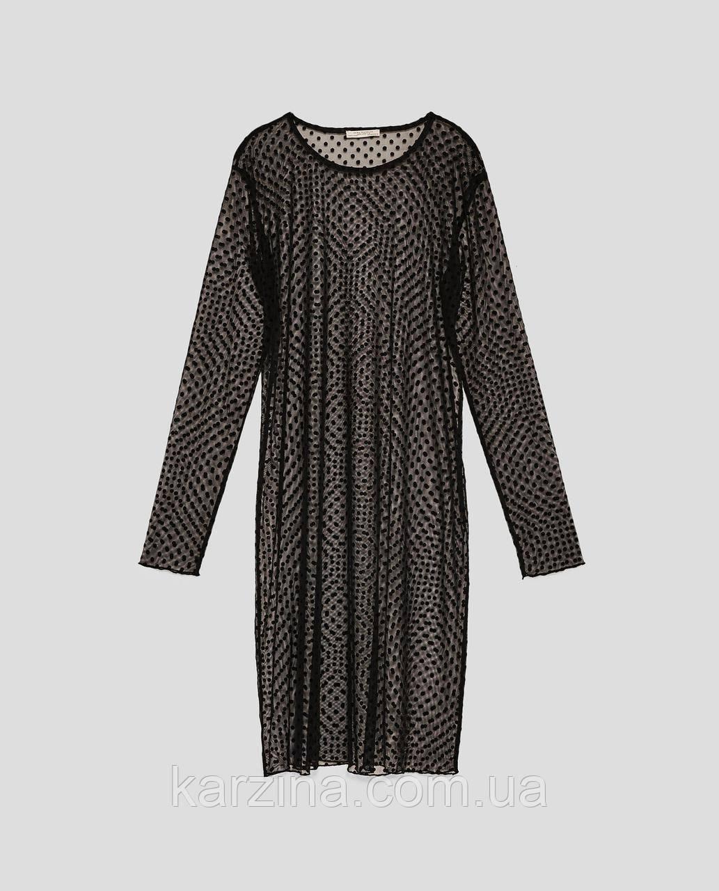 Платье туника ZARA р.S