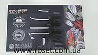 Набор стальных кухонных ножей Zepter - ZP-008 (6 шт)