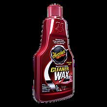 Очиститель жидкий воск - Meguiar`s Cleaner Wax Liquid 473 мл. (A1216)