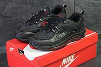 Кросівки чоловічі Nike Air Max 98 x Supreme артикул: 6170 Чорний/червоний