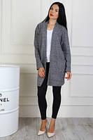 Модный кардиган-пиджак женский (48-54) , доставка по Украине, фото 1
