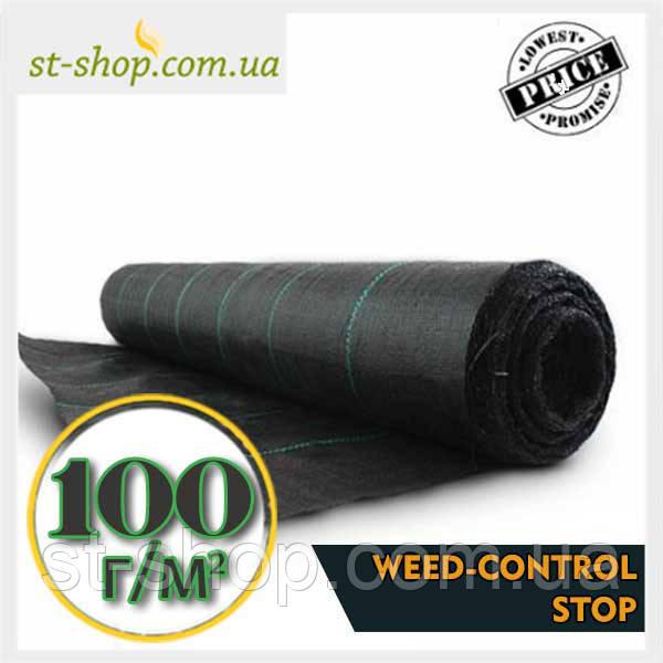 Агроткань SHADOW плотностью 100г/м2 (3,4*25м черное)