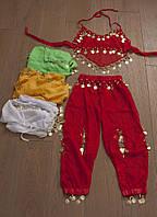 Маскарадный костюм Восточный 3-5 лет, белый и желтый