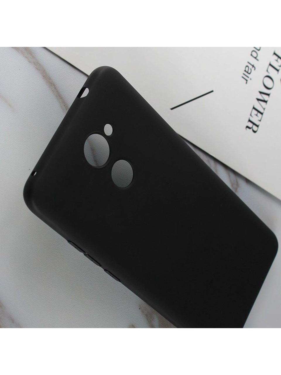 Чехол SMTT для Huawei Y7 - black