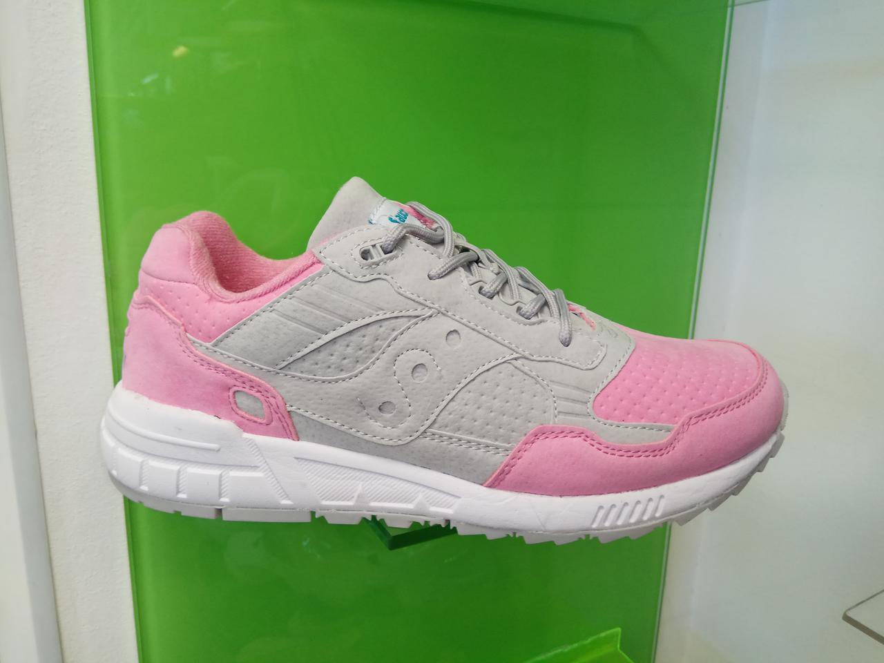 Кроссовки женские Saucony Pink & Gray