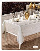 Скатерть c салфетками и кольцами в подарочной коробке 160*220 см, Jackline, Турция