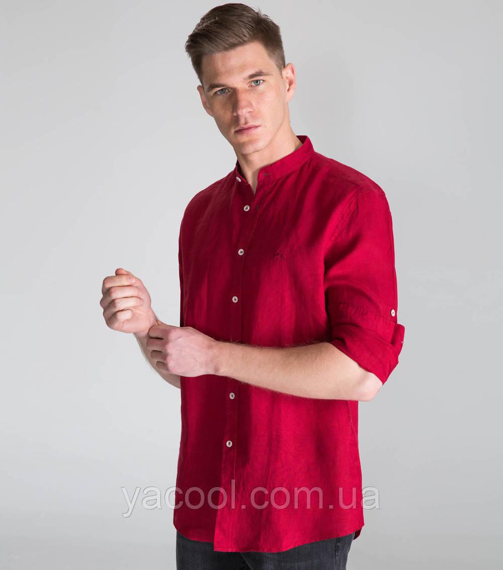 21fd0f853a3b Рубашка свободного покроя лен, офис, осень-весна, цвет на выбор: продажа,  цена в ...