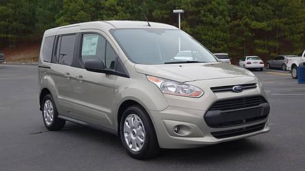 Передний бампер Ford Transit Connect, Tourneo 2013- (без отв. п/тум) серый текстура (FPS), фото 2