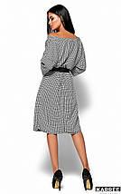 Женское платье в клетку с поясом (Ульяна kr), фото 2