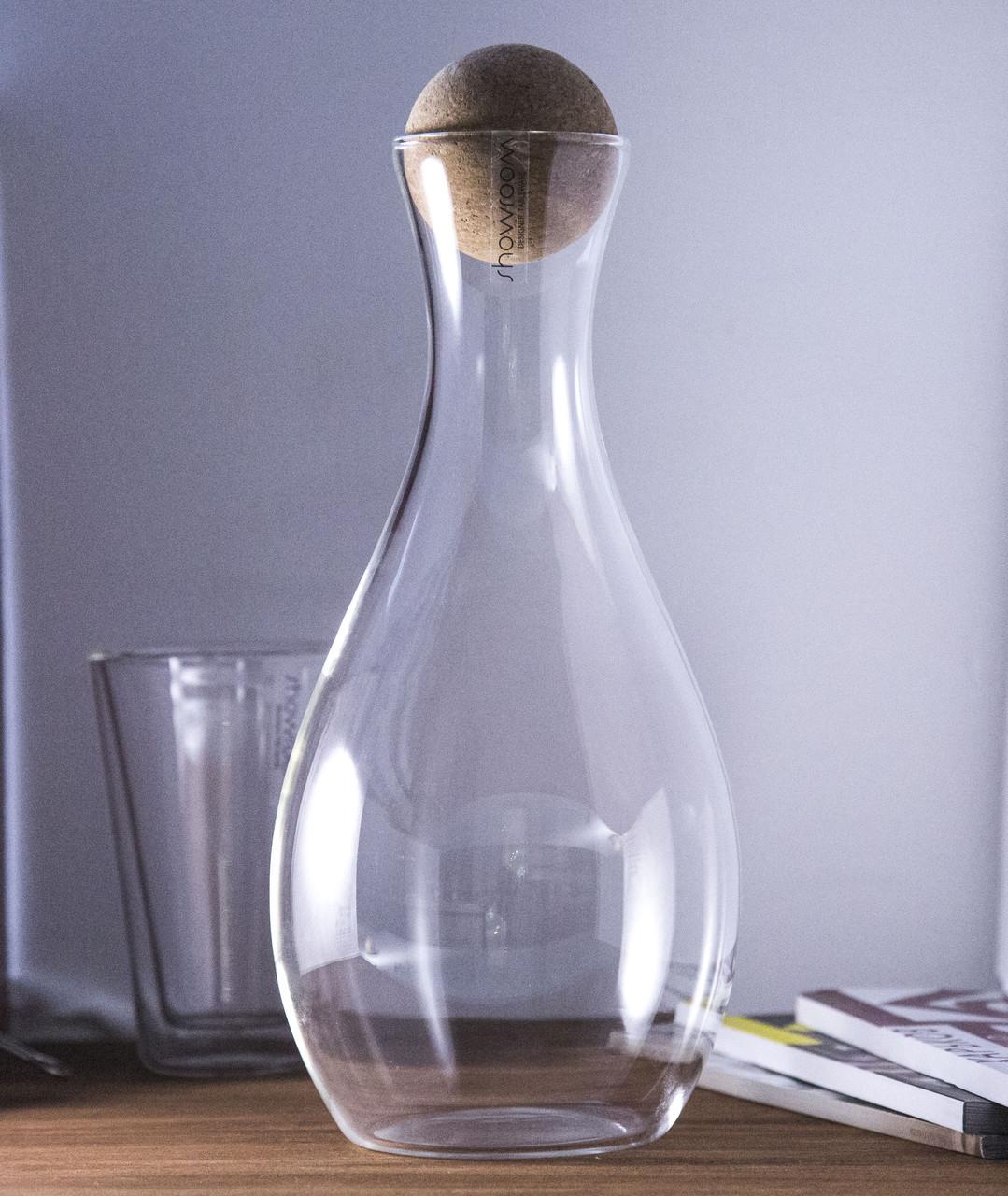 Декантер для вина с корковой пробкой 1100 мл (SR81009K1)