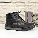 Мужские ботинки на шнуровке, осень/зима, натуральная кожа, фото 2