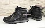 Мужские ботинки на шнуровке, осень/зима, натуральная кожа, фото 3