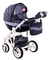 Дитяча універсальна коляска 2 в 1 Adamex Monte Deluxe Carbon D24
