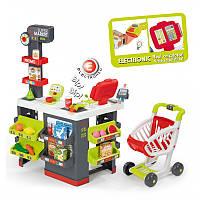 Детский игровой супермаркет с электронной кассой Smoby 350213