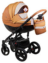 Дитяча універсальна коляска 2 в 1 Adamex Monte Deluxe Carbon D104