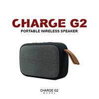 Портативная колонка CHARGE G2 - Bluetooth - черно-серый цвет