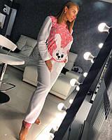 Женская пижама Doratti, костюм домашний с зайкой M02