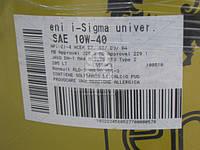 Масло моторн. Eni i-Sigma universal 10W-40 (Бочка 205л) 108510