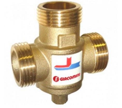 """Антиконденсатный трехходовой клапан Giacomini 1 1/4""""  Kv 9 - DN32 (45 °C)"""