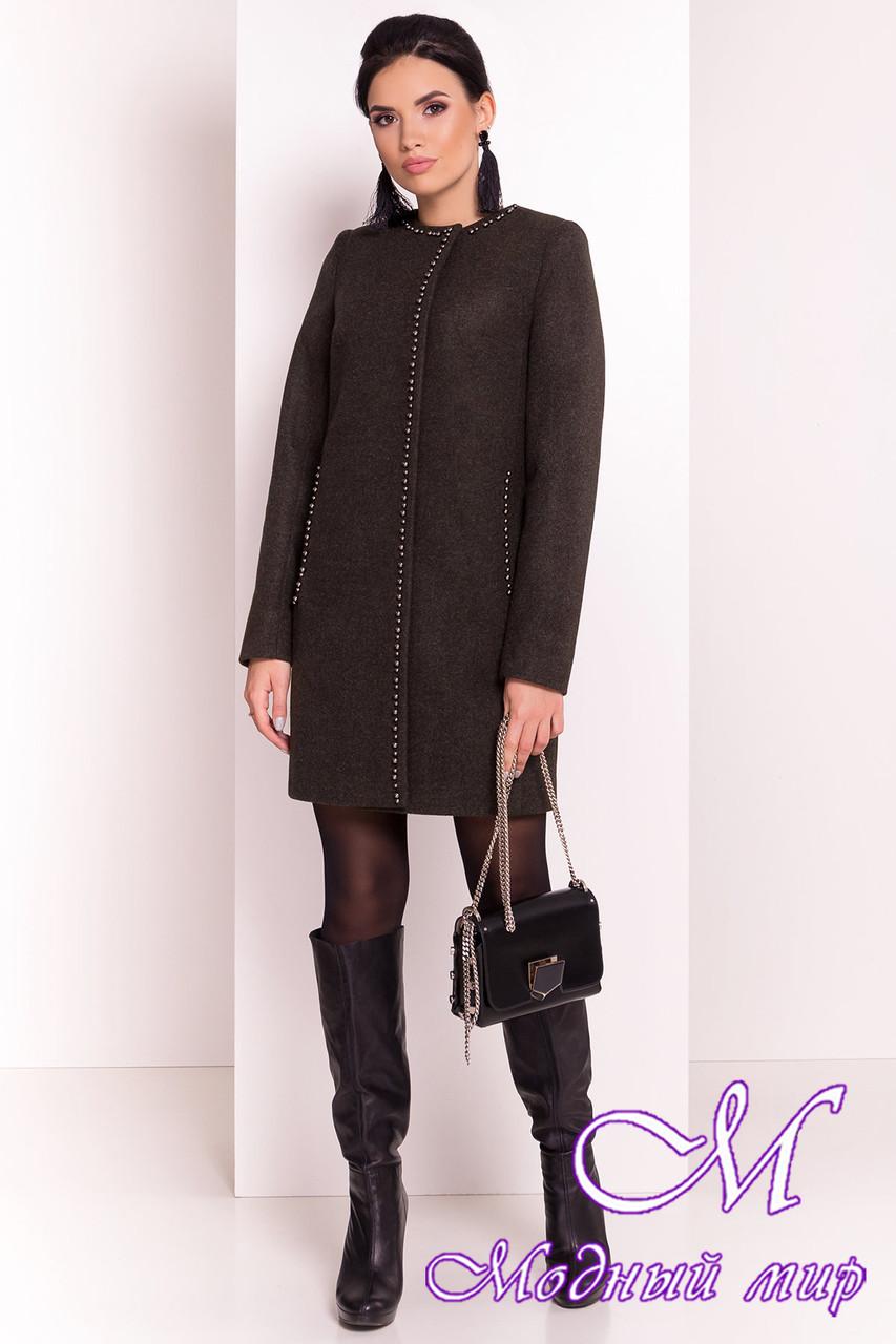 Кашемировое женское пальто осень-весна (р. S, M, L) арт. Пелагея 5512 - 37062