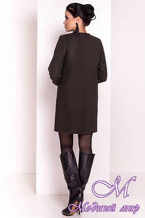 Кашемировое женское пальто осень-весна (р. S, M, L) арт. Пелагея 5512 - 37062, фото 2