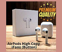 Беспроводные наушники Bluetooth  AirPods High Copy iFans (Button)
