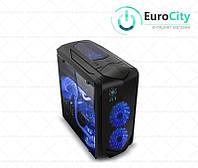 ПК корпус ICE Frost V для плат Micro-ATX и Mini-ITX с прозрачной боковой стенкой, без БП, Black.