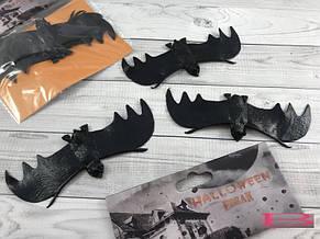 Летучая мышь аксессуар для Хэллоуина Halloween 3в1 (только упаковкой 12 штук), фото 2