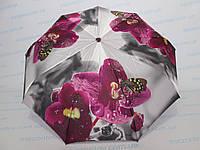 Женский зонт полный автомат цветной