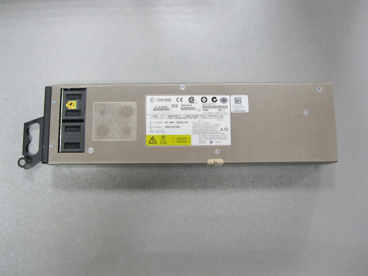 Серверный блок питания Brocade Foundry NIBI-32-ACPWR-A Cherokee SP708 Power Supply 2400W/из США!!!ГАРАНТИЯ!!!