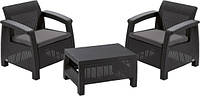 "Комплект мебели Curver ""корфу викенд"" (2 кресла, стол)"